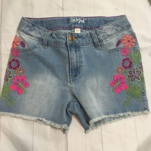 Car & Jack | Girls Large (10/12) Jean Shorts